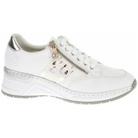 Scarpe Donna Sneakers basse Rieker N432280 Bianco