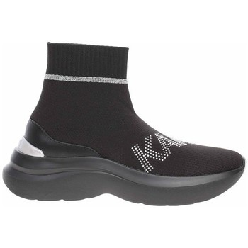 Scarpe Donna Sneakers alte Karl Lagerfeld KL61855 Nero