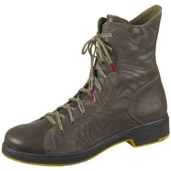 Scarpe Donna Sneakers alte Think Cogita Marrone