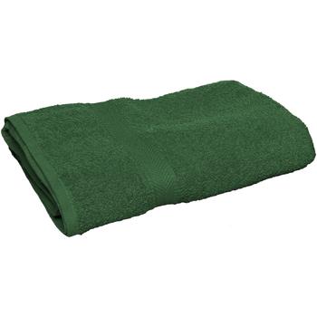 Casa Asciugamano e guanto esfoliante Towel City 30 cm x 50 cm RW2880 Verde foresta
