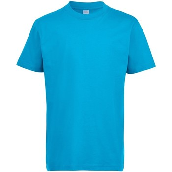 Abbigliamento Unisex bambino T-shirt maniche corte Sols 11770 Azzurro acqua