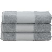 Casa Asciugamano e guanto esfoliante A&r Towels 50 cm x 100 cm Antracite