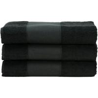 Casa Asciugamano e guanto esfoliante A&r Towels 50 cm x 100 cm Nero
