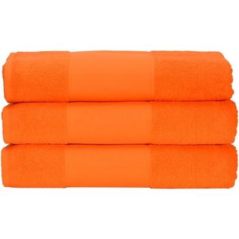 Casa Asciugamano e guanto esfoliante A&r Towels 50 cm x 100 cm Arancione brillante