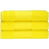 Casa Asciugamano e guanto esfoliante A&r Towels 50 cm x 100 cm RW6036 Giallo brillante