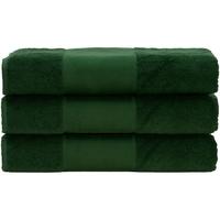 Casa Asciugamano e guanto esfoliante A&r Towels 50 cm x 100 cm RW6036 Verde scuro