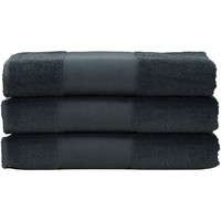 Casa Asciugamano e guanto esfoliante A&r Towels 50 cm x 100 cm RW6036 Grafite