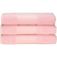 Casa Asciugamano e guanto esfoliante A&r Towels 50 cm x 100 cm Rosa chiaro