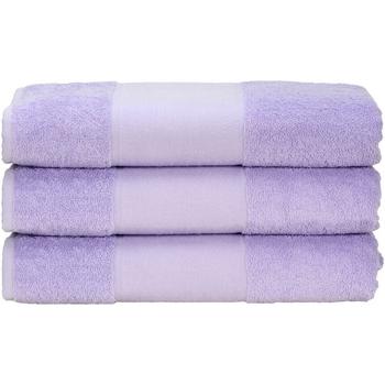 Casa Asciugamano e guanto esfoliante A&r Towels 50 cm x 100 cm Viola chiaro
