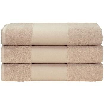 Casa Asciugamano e guanto esfoliante A&r Towels 50 cm x 100 cm Sabbia