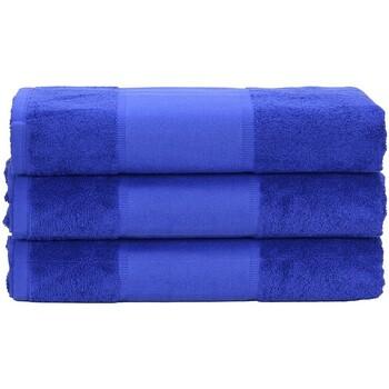 Casa Asciugamano e guanto esfoliante A&r Towels 50 cm x 100 cm Blu intenso