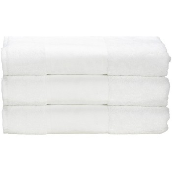 Casa Asciugamano e guanto esfoliante A&r Towels 50 cm x 100 cm RW6036 Bianco