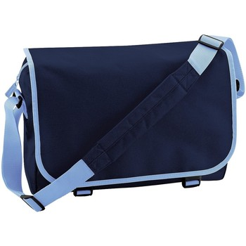 Borse Bambino Cartelle Bagbase BG21 Blu navy/Blu cielo