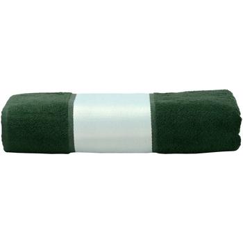 Casa Asciugamano e guanto esfoliante A&r Towels 50 cm x 100 cm RW6040 Verde scuro
