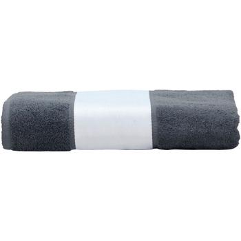 Casa Asciugamano e guanto esfoliante A&r Towels 50 cm x 100 cm Grafite