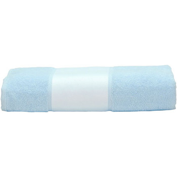 Casa Asciugamano e guanto esfoliante A&r Towels 50 cm x 100 cm Azzurro
