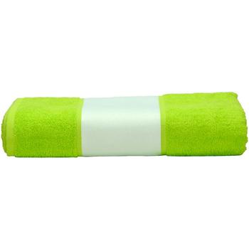 Casa Asciugamano e guanto esfoliante A&r Towels 50 cm x 100 cm RW6040 Verde lime