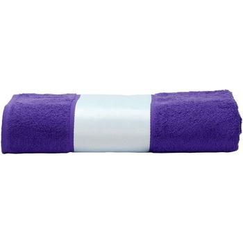 Casa Asciugamano e guanto esfoliante A&r Towels 50 cm x 100 cm Viola