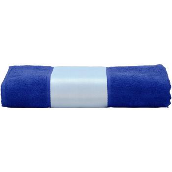 Casa Asciugamano e guanto esfoliante A&r Towels 50 cm x 100 cm Blu inteso