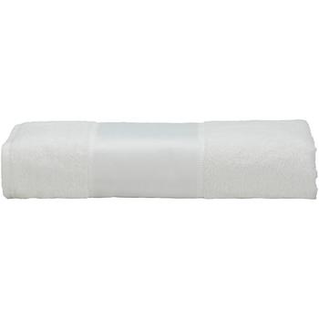 Casa Asciugamano e guanto esfoliante A&r Towels 50 cm x 100 cm Bianco