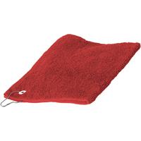 Casa Asciugamano e guanto esfoliante Towel City 30 cm x 50 cm RW1579 Rosso