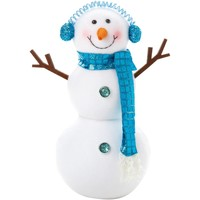 Casa Decorazioni natalizie Christmas Shop Taille Unique Bianco/Blu