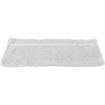 Casa Asciugamano e guanto esfoliante Towel City RW1575 Bianco