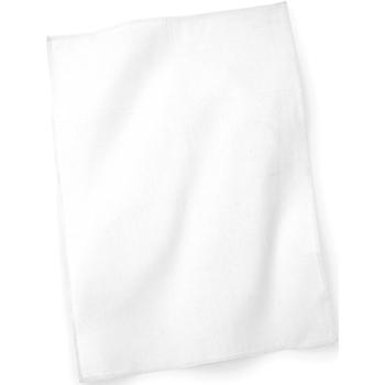 Casa Asciugamano e guanto esfoliante Westford Mill Taille unique Bianco