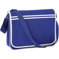 Borse Bambino Cartelle Bagbase BG71 Blu acceso/Bianco