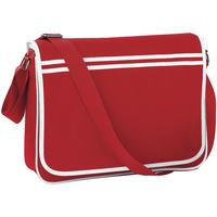 Borse Bambino Cartelle Bagbase BG71 Rosso/Bianco