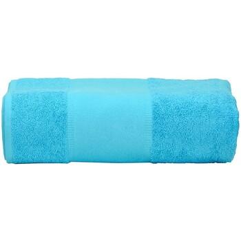 Casa Asciugamano e guanto esfoliante A&r Towels RW6037 Azzurro intenso