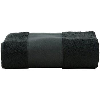 Casa Asciugamano e guanto esfoliante A&r Towels Taille unique Nero