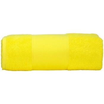 Casa Asciugamano e guanto esfoliante A&r Towels Taille unique Giallo brillante