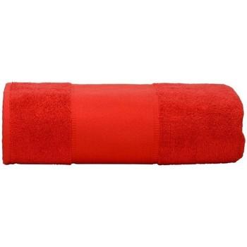 Casa Asciugamano e guanto esfoliante A&r Towels RW6037 Rosso fuoco