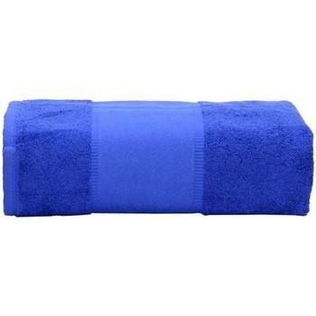 Casa Asciugamano e guanto esfoliante A&r Towels RW6037 Blu intenso