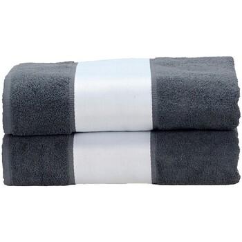 Casa Asciugamano e guanto esfoliante A&r Towels Taille unique Antracite
