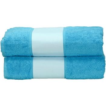 Casa Asciugamano e guanto esfoliante A&r Towels Taille unique Azzurro intenso