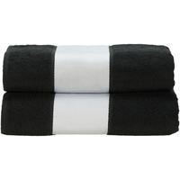 Casa Asciugamano e guanto esfoliante A&r Towels RW6041 Nero