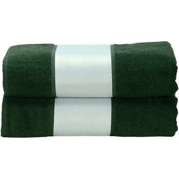 Casa Asciugamano e guanto esfoliante A&r Towels RW6041 Verde scuro