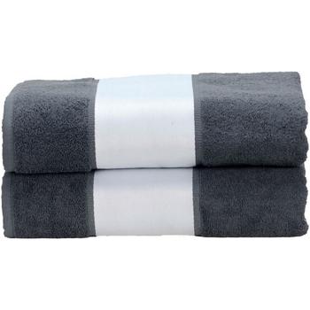 Casa Asciugamano e guanto esfoliante A&r Towels Taille unique Grafite