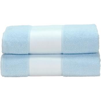 Casa Asciugamano e guanto esfoliante A&r Towels Taille unique Azzurro