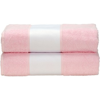 Casa Asciugamano e guanto esfoliante A&r Towels Taille unique Rosa chiaro
