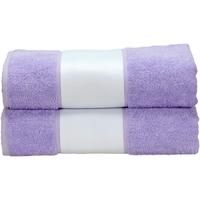 Casa Asciugamano e guanto esfoliante A&r Towels RW6041 Viola chiaro