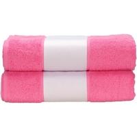 Casa Asciugamano e guanto esfoliante A&r Towels RW6041 Rosa