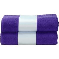 Casa Asciugamano e guanto esfoliante A&r Towels Taille unique Viola
