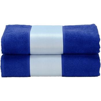 Casa Asciugamano e guanto esfoliante A&r Towels Taille unique Blu intenso