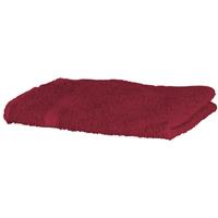Casa Asciugamano e guanto esfoliante Towel City RW1576 Rosso scuro