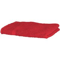 Casa Asciugamano e guanto esfoliante Towel City RW1576 Rosso