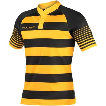 Abbigliamento Bambino T-shirt maniche corte Kooga K106B Nero/Dorato
