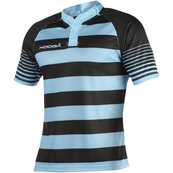 Abbigliamento Bambino T-shirt maniche corte Kooga K106B Nero/Azzurro